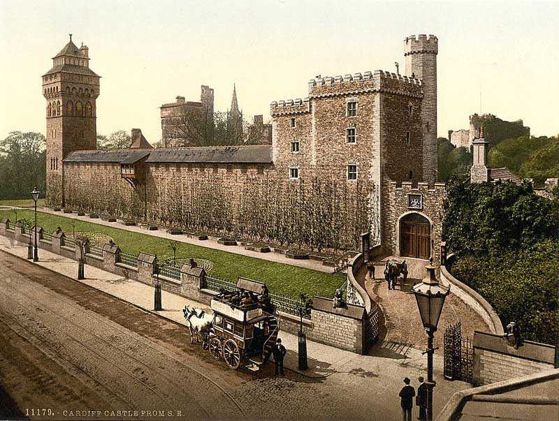 Cardiff Castle from the South East