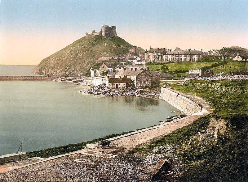 Criccieth Castle from the Parade
