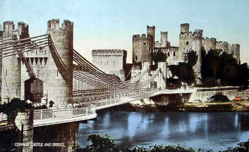 Conwy Castle & Bridge
