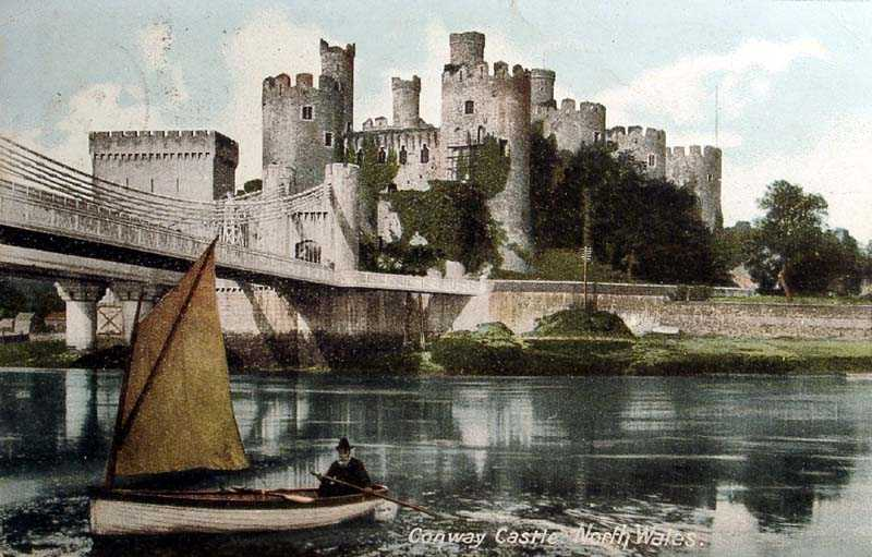 Conwy Castle and Bridge 1905