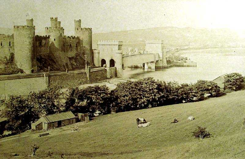 Conwy Castle and Tubular Bridge