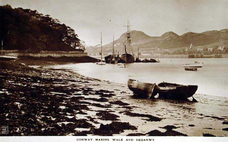Conwy Marine Walk and Deganwy in 1916