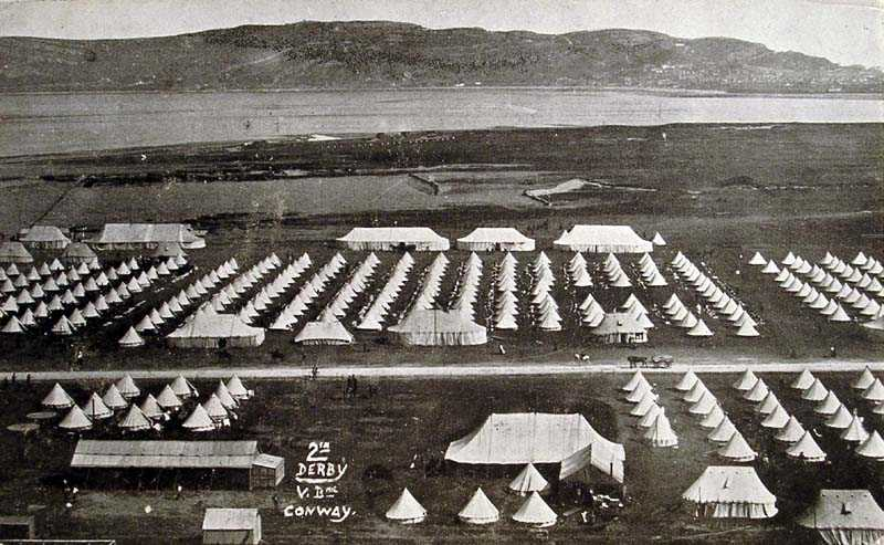 Conwy Military Camp in 1906