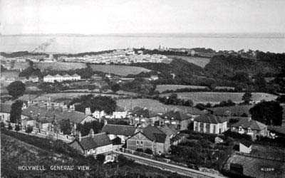 Holywell General View in times past