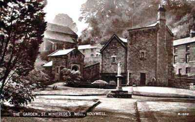 Holywell St Winifred's Well old photo