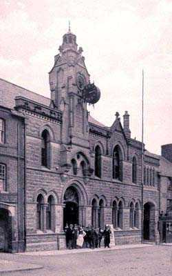 Holywell Town Hall in times past