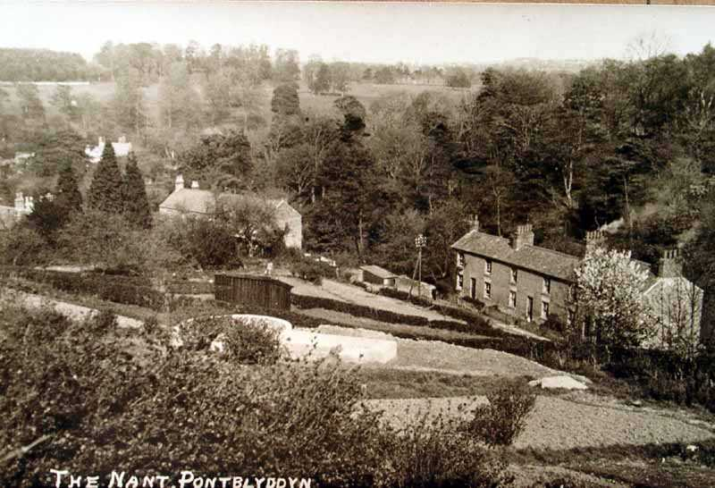 pontblyddyn, the nant in times past