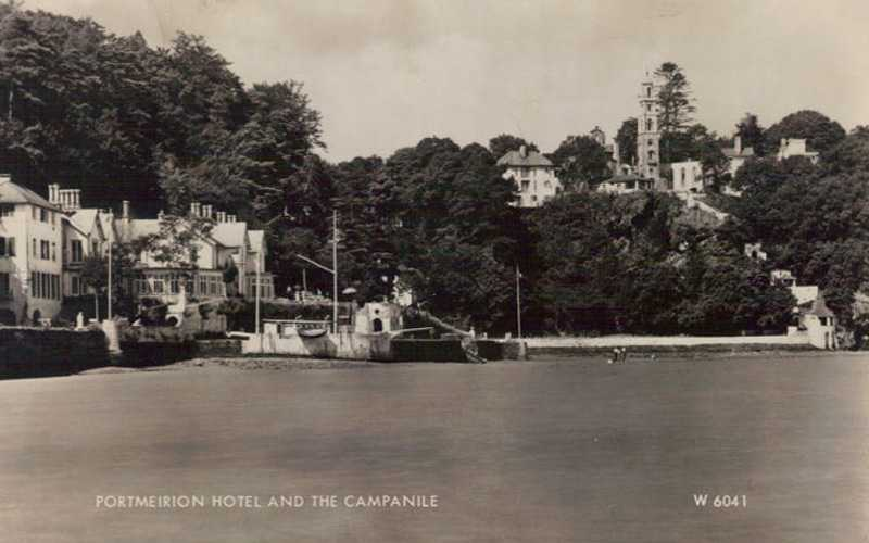 portmeirion, the hotel and campanile