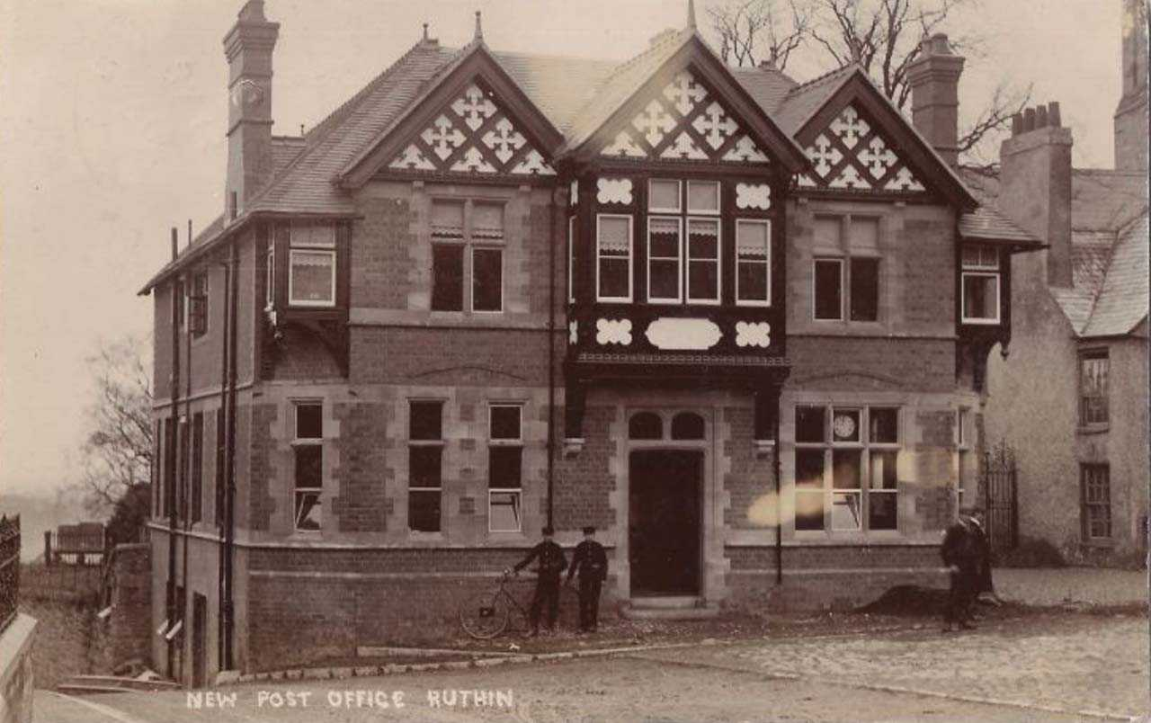 ruthin, new post office in 1906