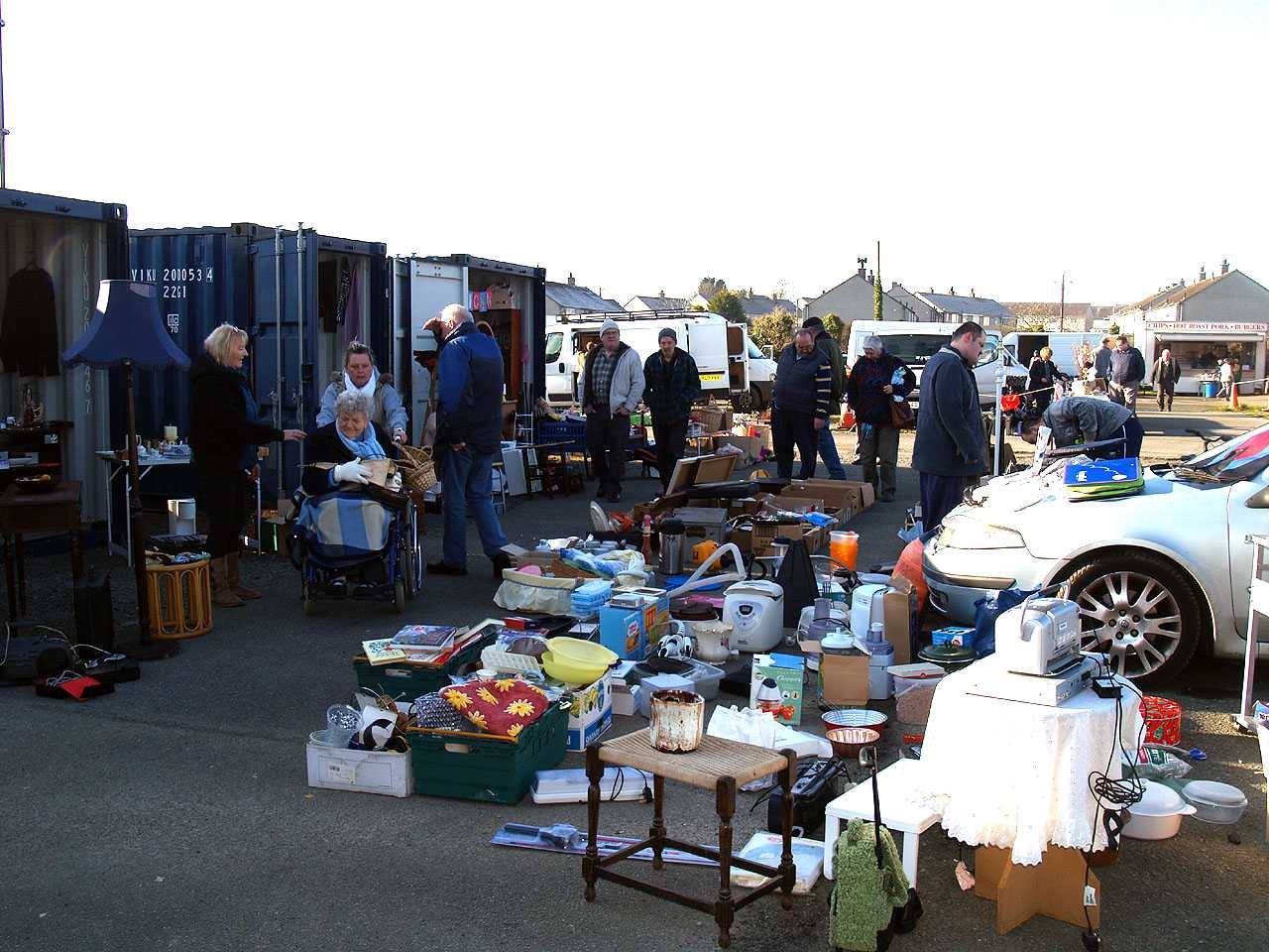 Valley Car Boot on Anglesey