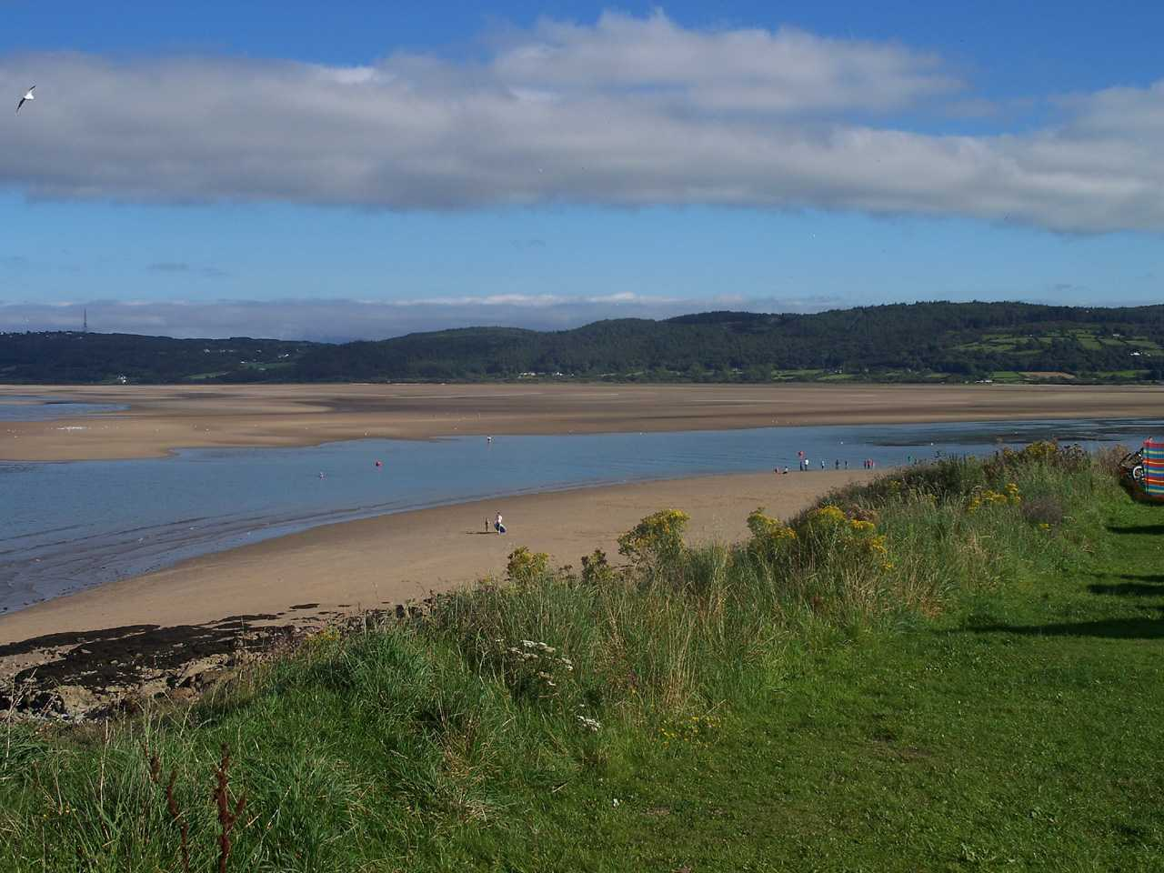 View from St Davids Park Camping Park over Red Wharf Bay - photo courtesy of Rachel  Forshaw