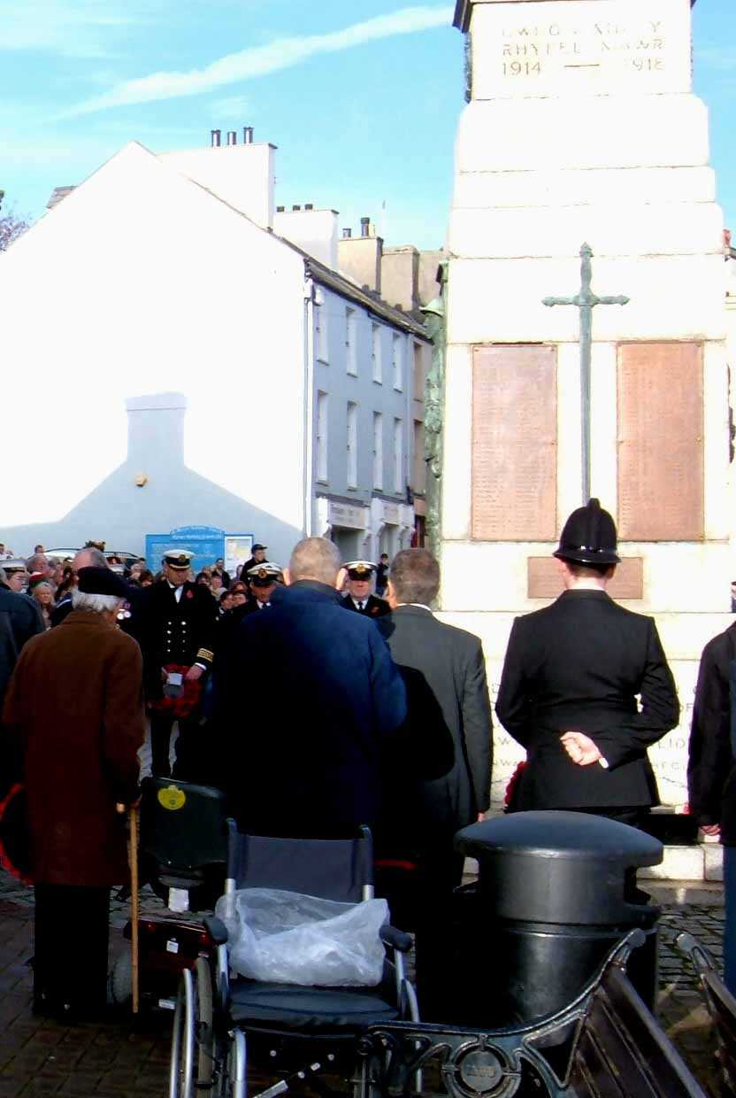 Anglesey, Holyhead, Remembrance Sunday 2006 - Quiet Respect
