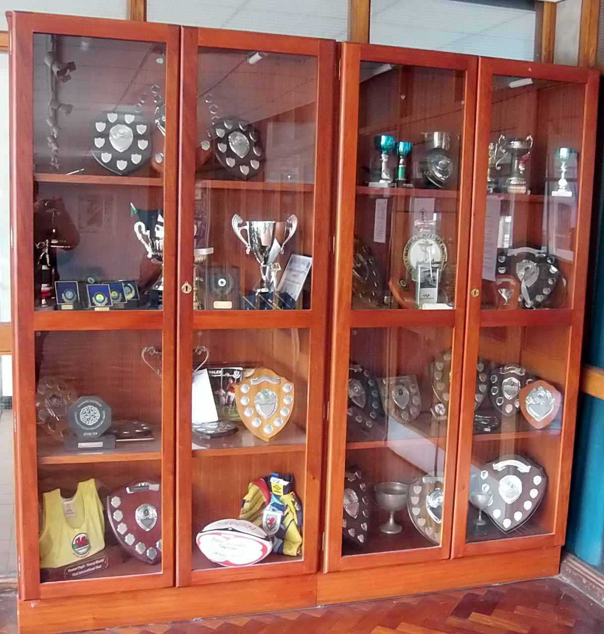 Holyhead, Secondary School Trophies Cabinet