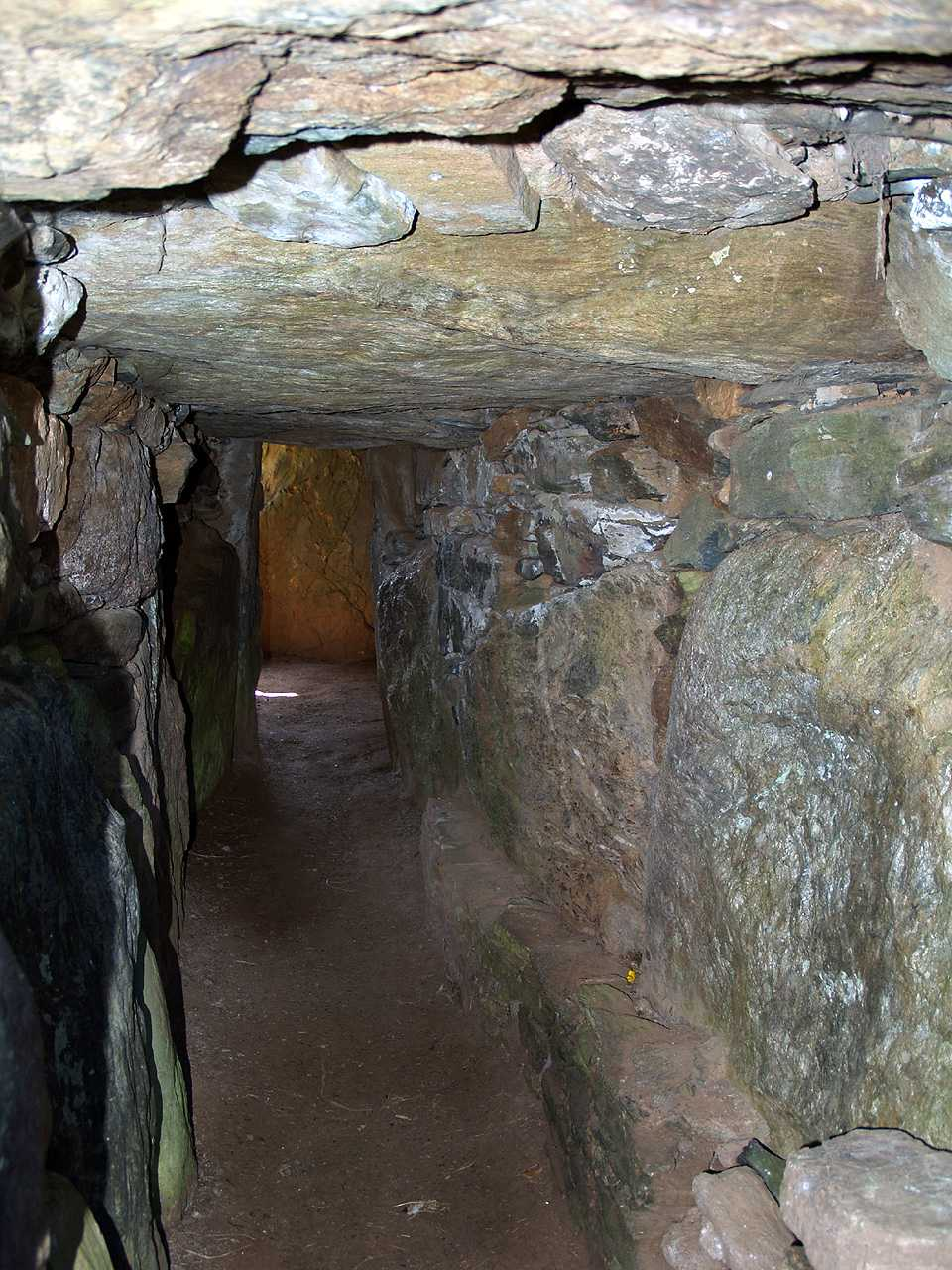 Anglesey, Llanddaniel, Bryn Celli Ddu, Internal Entrance Hall