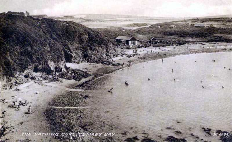 Cemaes Bay in the 1960's