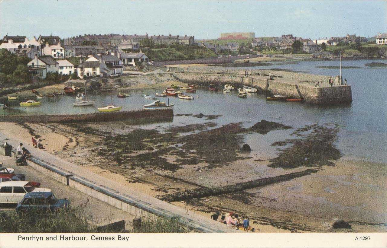 Cemaes Bay, Penrhyn and Harbour 1970's