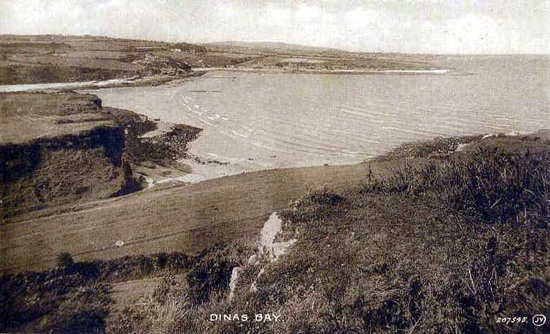 Dinas Bay on Anglesey