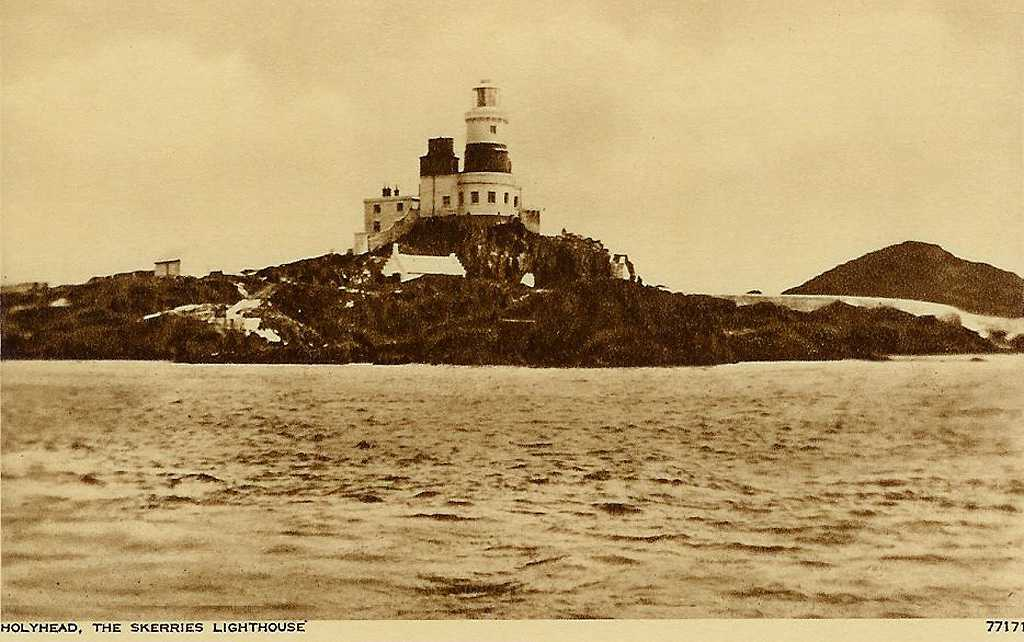 The Skerries Lighthouse off Anglesey