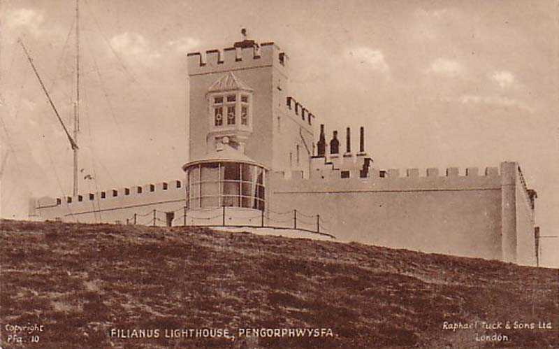 Anglesey, Llaneilian, Pengorphwysfa - Point Lynas Lighthouse 1933