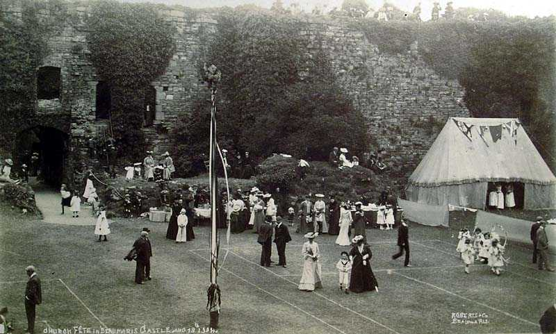 Beaumaris Castle - Church Fete 1904