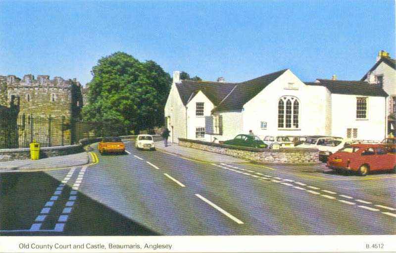 Beaumaris County Court and the Castle 1960's