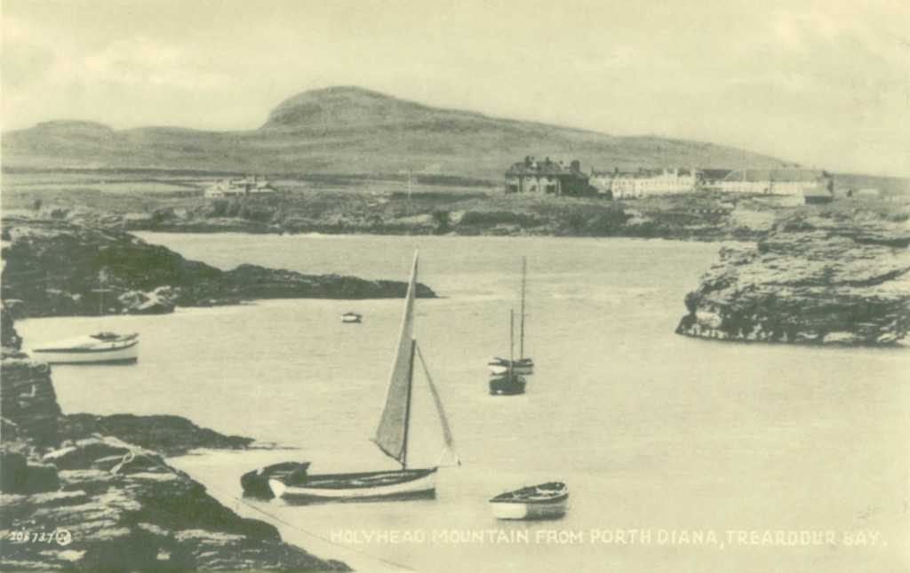 Holyhead Mountain from Porth Diana in 1933