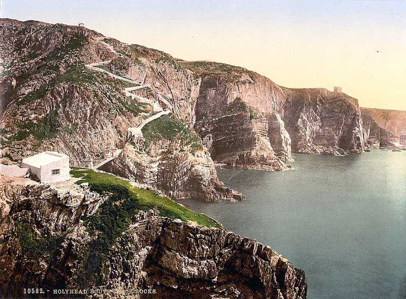 South Stack Rocks in the 1900's