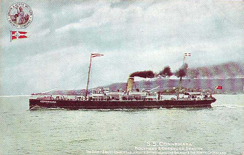 The SS Connemara that once sailed out of Holyhead