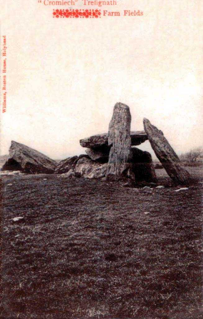 Trefignath Burial Chambers in Holyhead 1904