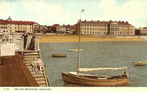 Anglesey, Beaumaris Pier c1950's