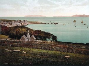 Anglesey, Beaumaris from Baron Hill