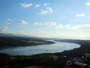 Menai Bridge, Menai Straits Winding 1280pix