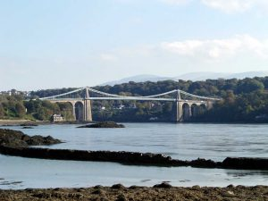 Menai Bridge, Telford's Suspension Bridge 1280pix