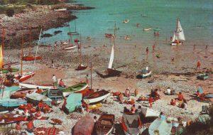 traeth bychan beach c1970
