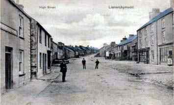 Old Photograph in Llanerchymedd